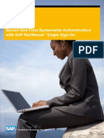 Sap Netweaver Single Sign on for High Productivity and Security in Your Company (1)