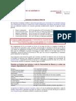 Calendario Academico 2014 15