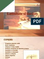 Latinitate Si Dacism Studiu de caz