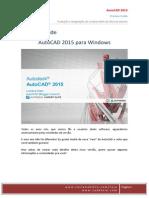 Preview Guide AutoCAD 2015 - Por Luciana Klein