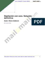 Depilacion Cera Solucion Definitiva 24635