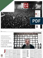 Projekt N - Prvé vydanie novín
