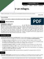 HCV - Fe Para Recibir Un Milagro - 9Nov2014