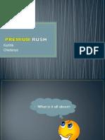 Premium Rush Nielsen Case study