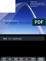 Oba Reference Application Packs