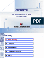 For GSM 10w Repeater Training Material-For Outdoor Project(1)