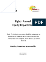 Eighth Annual Equity Report Card