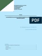 La necesidad de un proceso evaluativo basado en competencias en la educación superior