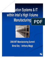 Automation systems at Intel fab