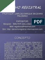 Derecho Registral 1 Clase i