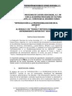 Convocatoria Segundo Curso de La FMLA 2014