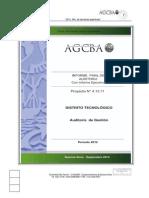 Informe Auditoría General de La Ciudad