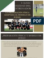 La Preparación física según el modelo de juego. LSE.