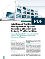 Intelligent Traffic Management System Provides Efficient and Orderly Traffic in Xi'An