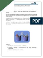 Celdas Electro química y Corrosión