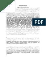 Etología de La Histeria Resumen PDF