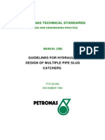 Guidelines for Hydraulic Desig of Multiple Pipe Slug Catchers