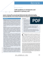 Common Mental Health Problems in Immigrants and Refugees