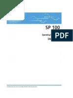 Ricoh Aficio SP 100 e _ User Guide
