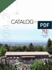 Holy Names University 2014 - 2015 Course Catalog