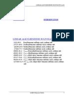Linear alkyl benzene survey