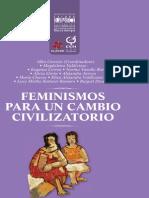 FeminismosParaUnCambioCivilizatorio