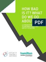 Ontario Debt Report - Ontario Chamber of Commerce
