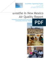 Breathe In New Mexico - Final Report
