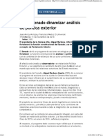 11-11-14 Busca Senado Dinamizar Análisis de Política Exterior