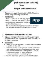 Lima Langkah Tuntaskan (LINTAS) Diare