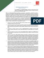 IANSA - Comunicado - Marzo 2014
