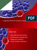 Lenguajes Formales y Libre de Contexto