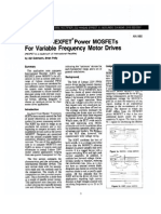 IGBTs vs HEXFET Power MOSFETs For Variable Frequency Motor Drives - an-980