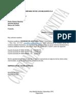 Cartas de Confirmaciones