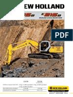 E215B E215B ME Escavadeira Hidraulica