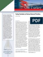 Turkey Hesitates to Revise External Priorities