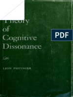 A Theory of Cognitive Dissonance