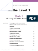 Maths Level 1_Chapter 1 Learner Materials