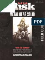 Metal Gear Risk Rules