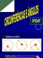 Circunferências e Ângulos - Propriedades 1 Autor Desconhecido