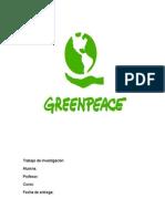 Trabajo Sobre Greenpeace (como ong)
