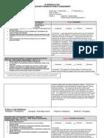 observation self assessment formteacher candidate form 1