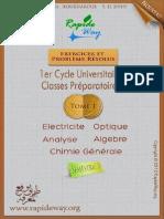 Exercices Et Probleme Resolus Tome 1 2013 Semestre 2 SMPC Et SMA Par ( Www.lfaculte.com )