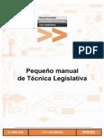 Manual Tecnica Legislativa