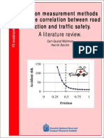 Friction Measurement Methods and the Correlation Between Road Friction and Traffic Safety