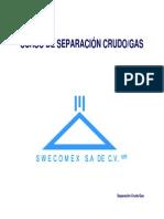 Separación Crudo Gas KU S