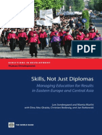 Skills, Not Just Diplomas Managing Education for Results in Eastern Europe and Central Asia
