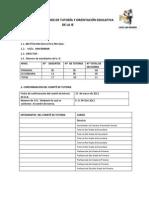 Informe tutoria 2012