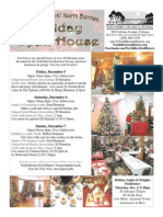 North Berrien Holiday Open House Flyer 2014