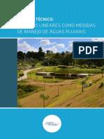PARQUES LINEARES COMO MEDIDAS DE MANEJO DE ÁGUAS PLUVIAIS